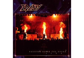 Edguy - Burning Down The Opera (Live) - (CD)