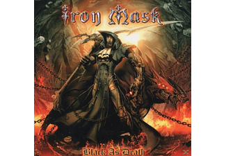 Iron Mask - Black As Death - (CD)