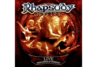 Rhapsody Of Fire - Live - From Chaos To Eternity (Digipak) - (CD)