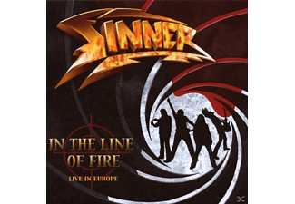 Sinner - In The Line Of Fire - (CD)