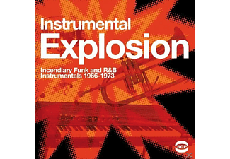VARIOUS - INSTRUMENTAL EXPLOSION - INCENDIARY FUNK AND R&B.. - (Vinyl)