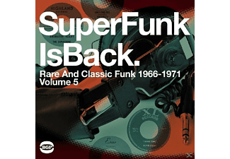 VARIOUS - Super Funk Is Back-Classic Funk 1966-1971 - (Vinyl)