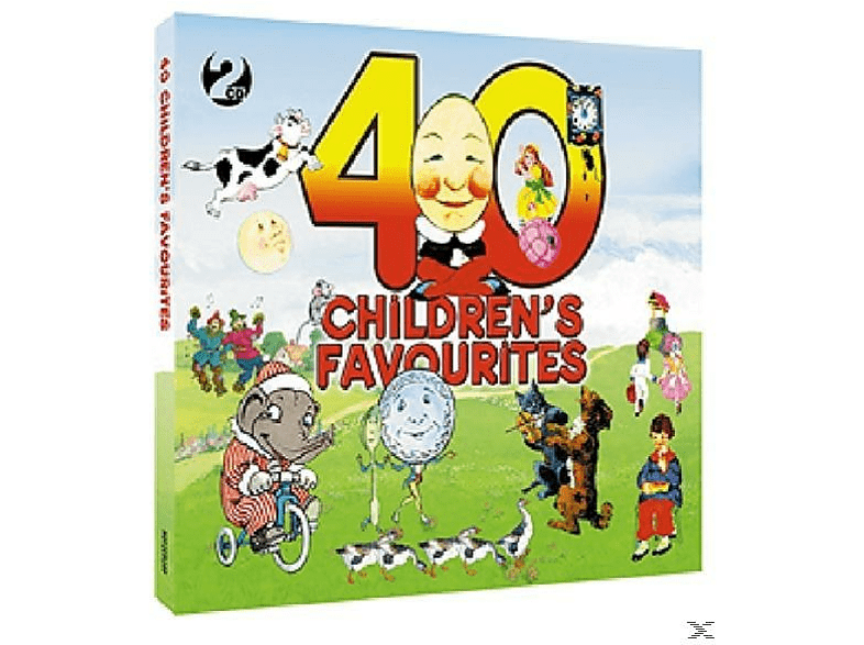 VARIOUS - 40 Children's Favourites - (CD)