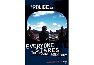 The Police - EVERYONE STARES - THE POLICE INSIDEOUT - (DVD)