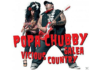 Popa Chubby With Galea - Vicious Country - (CD)