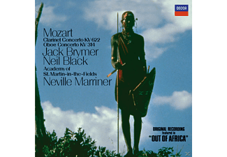Sir Neville Marriner, Jack Brymer, Neil Black - Klarinetten Konzert Kv 622 / Oboenkonzert Kv 314 - (CD)