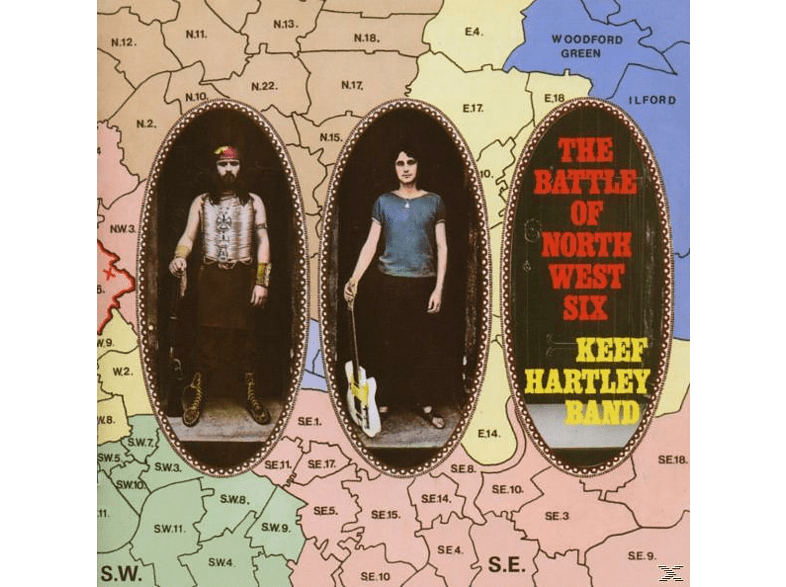 Brüder Rehm, Keef Band Hartley - The Battle Of North West Six [CD]