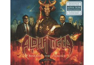 Alpha Tiger - Beneath The Surface (Limited Edition) - (CD)