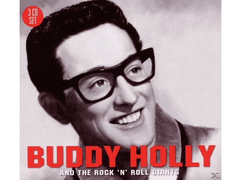 Buddy Holly - Buddy Holly And The Rock 'n' Roll Giants [CD]