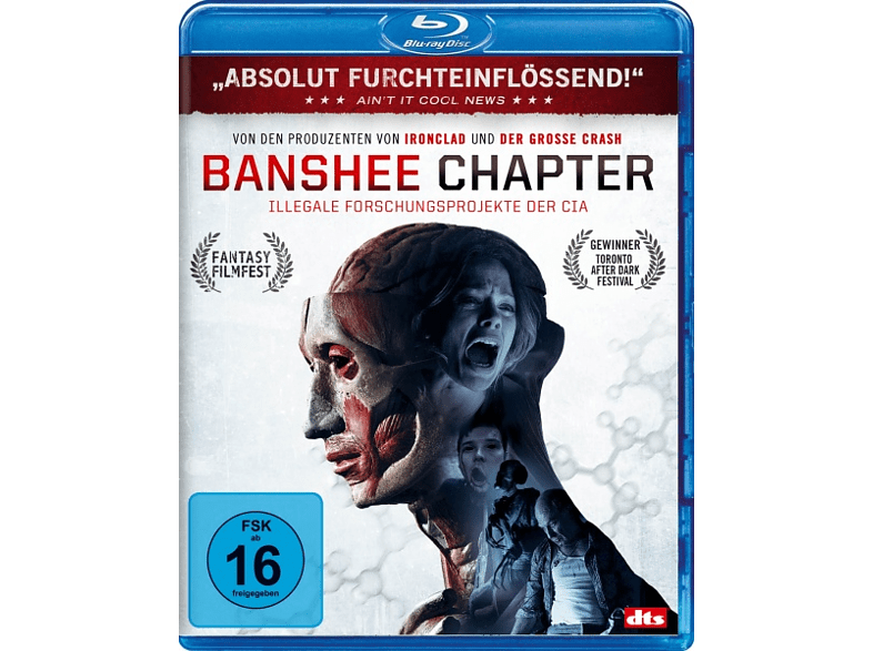 Banshee Chapter - Illegale Experimente der CIA [Blu-ray]