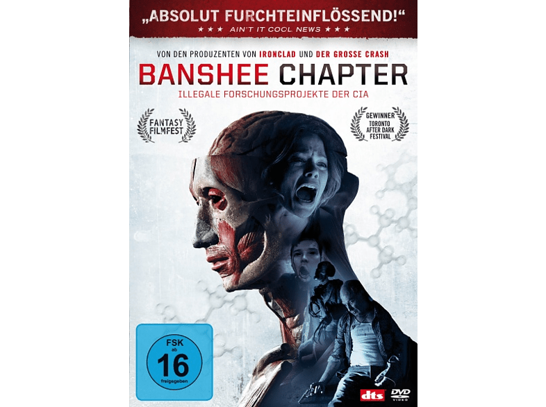 Banshee Chapter - Illegale Experimente der CIA [DVD]