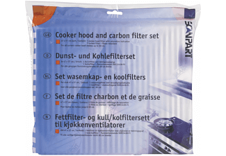 SCANPART Set vet- en koolfilters (1530050015)