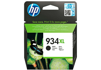 Cartucho tinta - HP 934XL High Yield Black, negro
