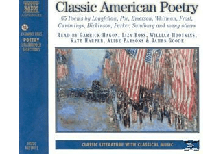 CLASSIC AMERICAN POETRY - 2 CD -