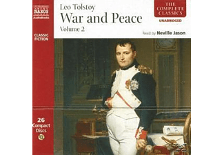 WAR AND PEACE 2 - 26 CD - Literatur/Klassiker