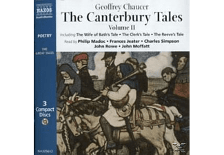 CANTERBURY TALES VOL.2 - 3 CD - Anthologien/Gedichte/Lyrik