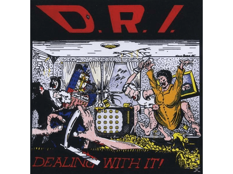 D.R.I - Dealing With It [CD]