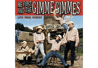 The Gimme Gimmes, Me First And The Gimme Gimmes - Love Their Country - (CD)