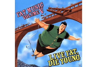 VARIOUS - Fat Music Vol.5/Live fat,die young - (CD)