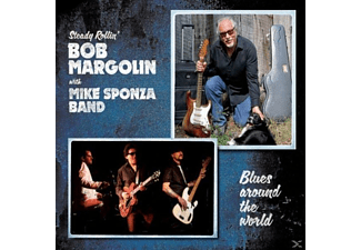 Bob With Mike Sponza Band Margolin - Blues Around The World [CD]