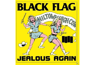Black Flag - Jealous Again - (Maxi Single CD)
