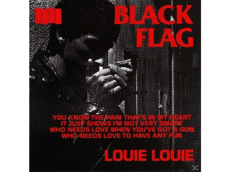 Black Flag - Louie Louie [Maxi Single CD]