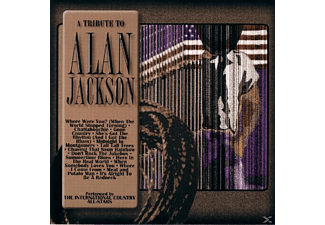 VARIOUS - Tribute To Alan Jackson - (CD)