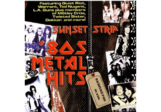 VARIOUS - Sunset Strip '80s Metal Hits - (CD)