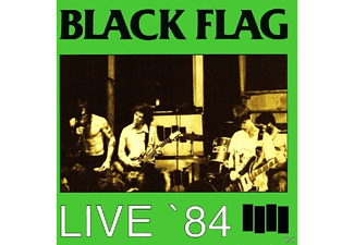 Black Flag - LIVE '84 - (CD)