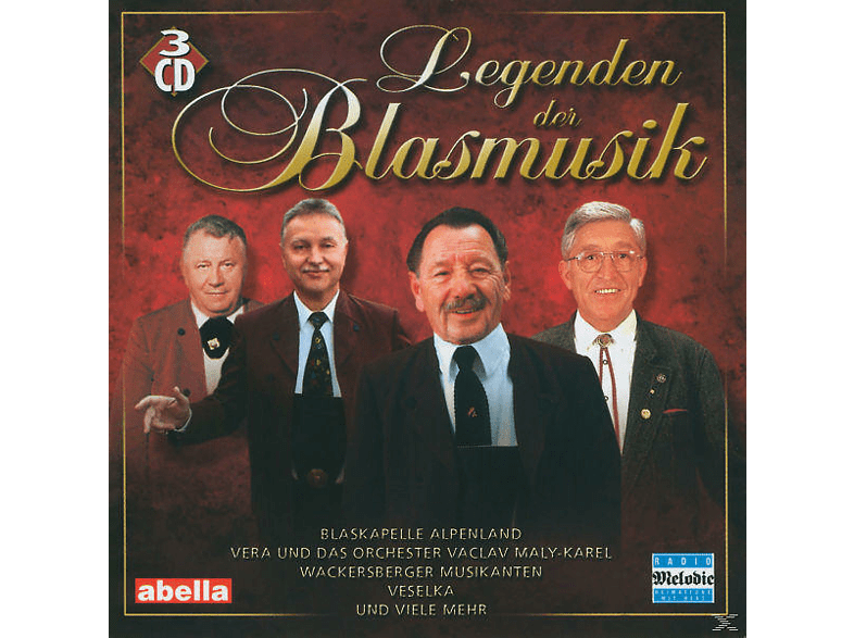 VARIOUS - Legenden Der Blasmusik [CD]