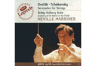 Sir Neville Marriner, Neville/amf/+ Marriner - STREICHERSERENADEN - (CD)