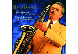 Max Greger - EINE LEGENDE IN MUSIK - (CD)