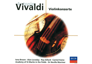VARIOUS, Loveday/Brown/Marriner/AMF/+ - Violinkonzerte - (CD)