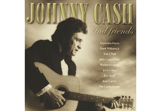 Johnny Cash - JOHNNY CASH AND FRIENDS - (CD)