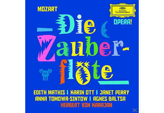 Carl August Nielsen, Mathis/Ott/Perry/Tomowa-Sintow/Baltsa/Karajan/BP/+ - Die Zauberflöte (Ga) - (CD)