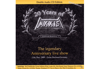 Axxis - Legendary Anniversary Live Show: Official Bootleg [CD]