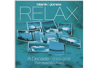 Blank & Jones - Relax - A Decade 2003-2013 - Remixed + Mixed - (CD)
