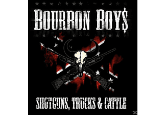 Bourbon Boys - Shotguns, Trucks & Cattle - (CD)