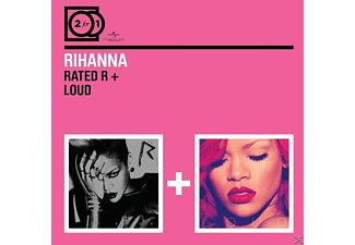 Rihanna - 2 For 1: Rated R/Loud - (CD)