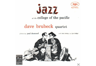 The Dave Brubeck Quartet - JAZZ AT COLLEGE OF THE PACIFIC - (CD)