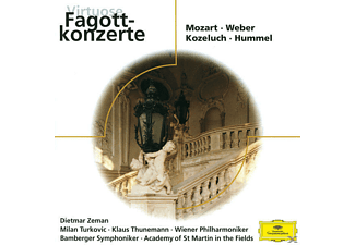 VARIOUS, Zeman/Turkovic/Thunemann/+ - VIRTUOSE FAGOTTKONZERTE - (CD)