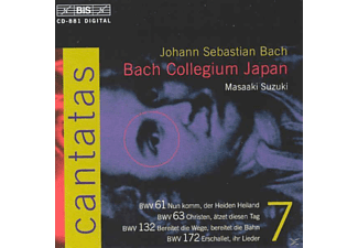 Bach Collegium Japan - Sämtliche Kantaten Vol.7 - (CD)