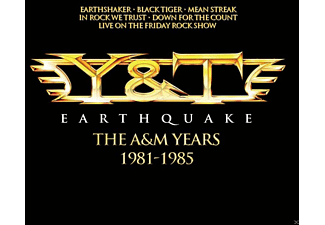 Y&t - Earthquake - The A&M Years - (CD)