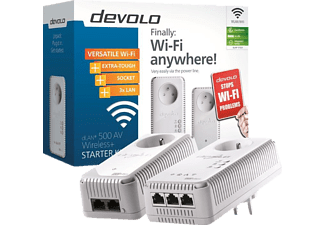 DEVOLO Powerline dLAN 500 AV Wireless+ starter kit (1831)