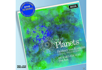 Wiener, Herbert Von/wp Karajan - The Planets/Don Juan Op.20 - (CD)