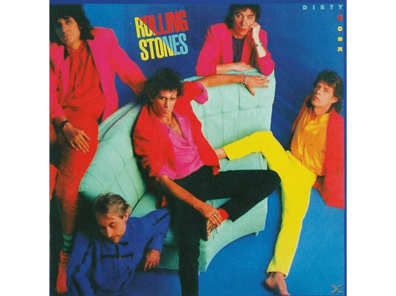 The Rolling Stones - Dirty Work (2009 Remastered) [CD]