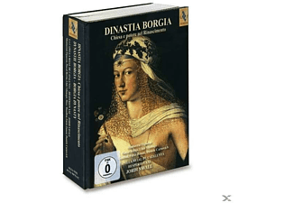 VARIOUS - Dinastia Borgia [Hybrid Sacd, Box-set] - (CD + DVD Video)