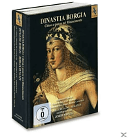 VARIOUS - Dinastia Borgia [Hybrid Sacd, Box-set] [CD + DVD Video]
