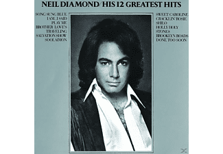 Neil Diamond HIS 12 GREATEST HITS Pop CD
