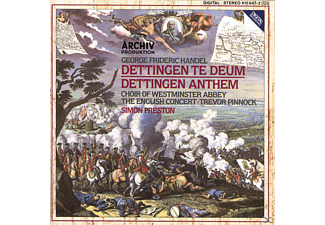 Westminster Abbey Choir/Preston/EC/+ - Dettinger Te Deum Und Anthem - (CD)